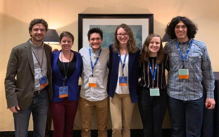 CU EWB representatives at the 2019 National EWB-USA Conference in Pittsburg, PA