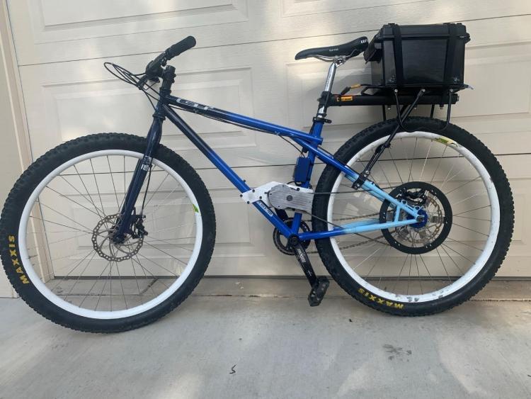 Finished E-Bike