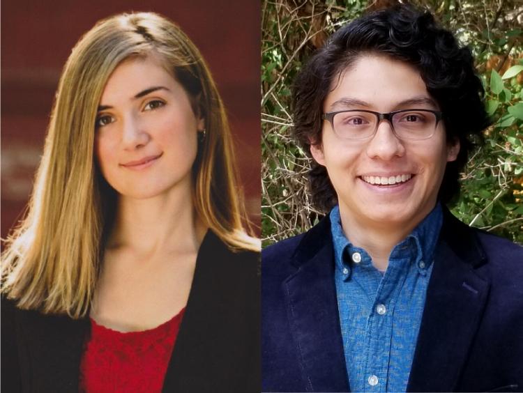 Jose Martinez-Loachamin and Kathryn Kubacki headshots
