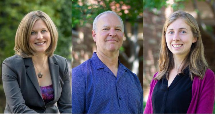 Julie Steinbrenner, Mike Hannigan, Kat McConnell headshots