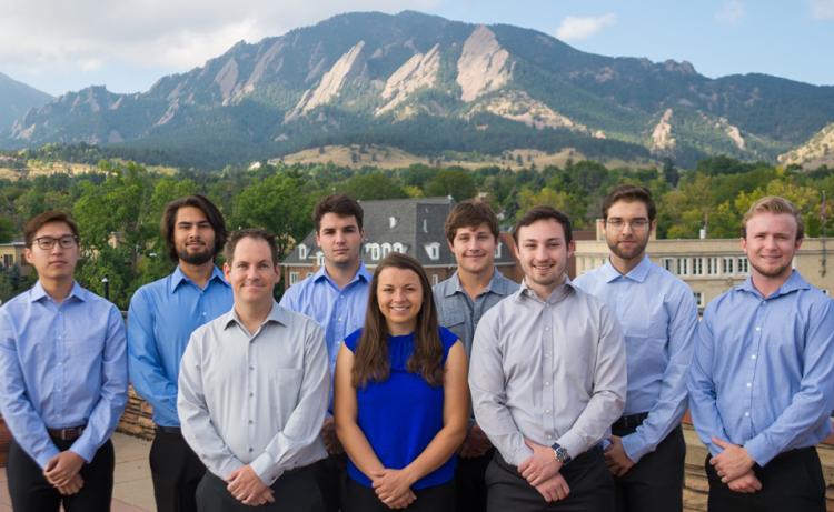 CU Boulder capstone Siemens Gamesa team