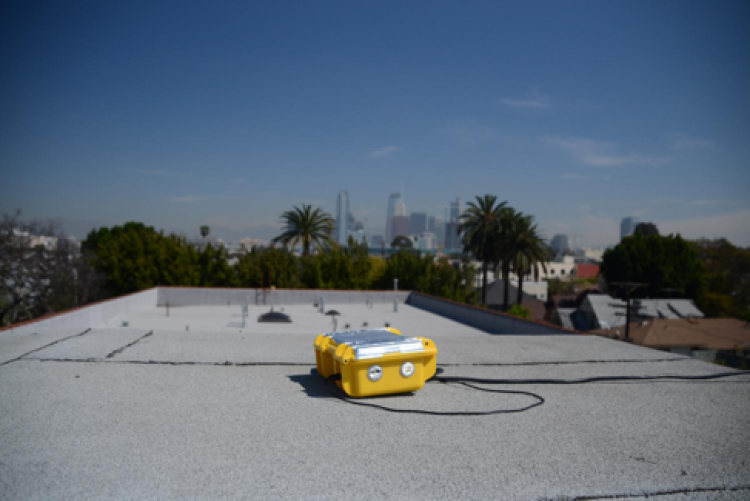Y-pods set up around Los Angeles