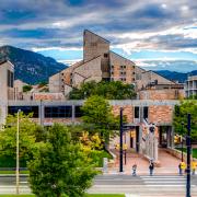 CU Boulder engineering building