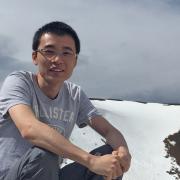Dongliang Zhao on a mountain.