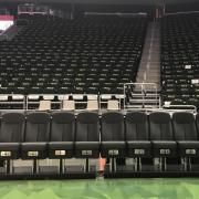 Milwauke Bucks seats designed by mechanical engineering students and emeritus professor Jack Zable