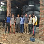 Curtis Gile and Engineers Without Borders Team