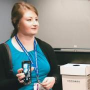 cu boulder mechanical engineering student Kelly Winn at Lockheed Martin Ethics competition