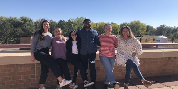 Diversity Leadership Fellows and Faculty Advisor