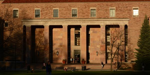Norlin library on main campus.