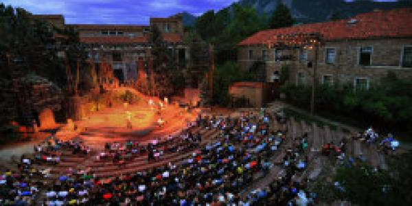 Shakespeare play at CU Boulder.