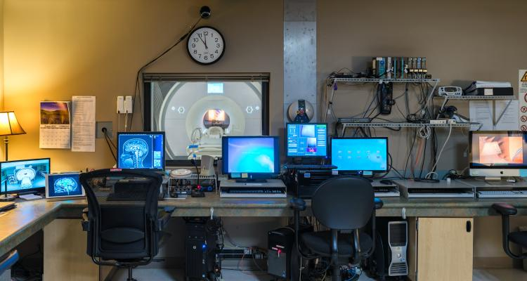 The control room at the INC facility