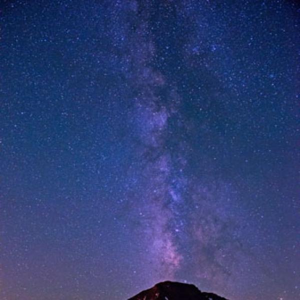 Stars over Kiowa Peak