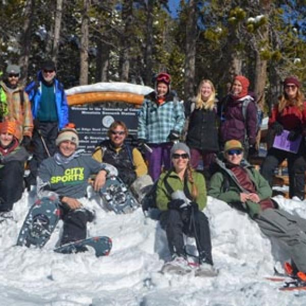 Winter Ecology Course 2014!!  photo by Fernando Lima