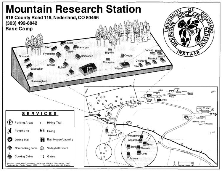 MRS site map