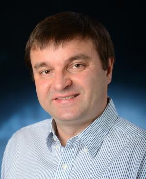 Ivan Smalyukh in blue shirt