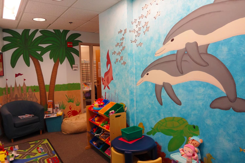 CDC Greeting Room