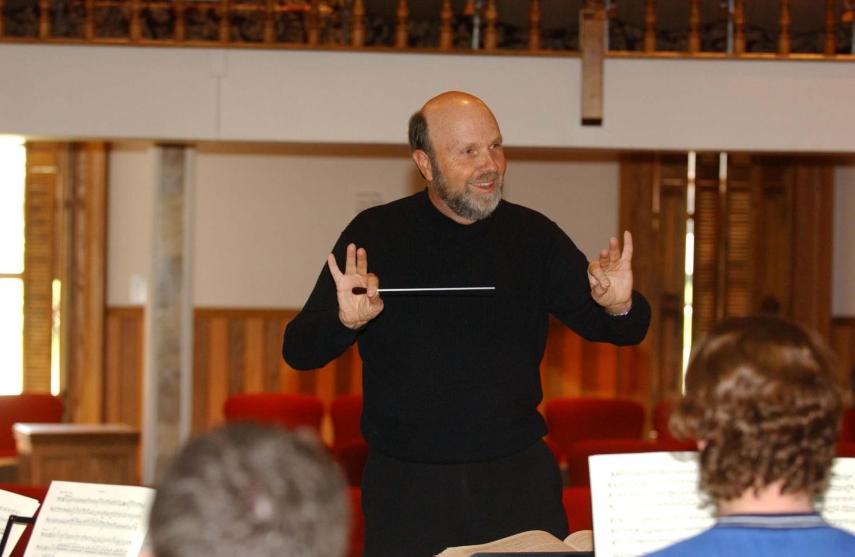 Allan McMurray conducting