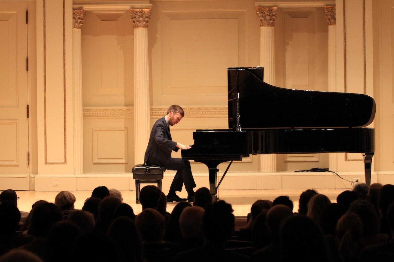 Jonathan Morris at Carnegie Hall