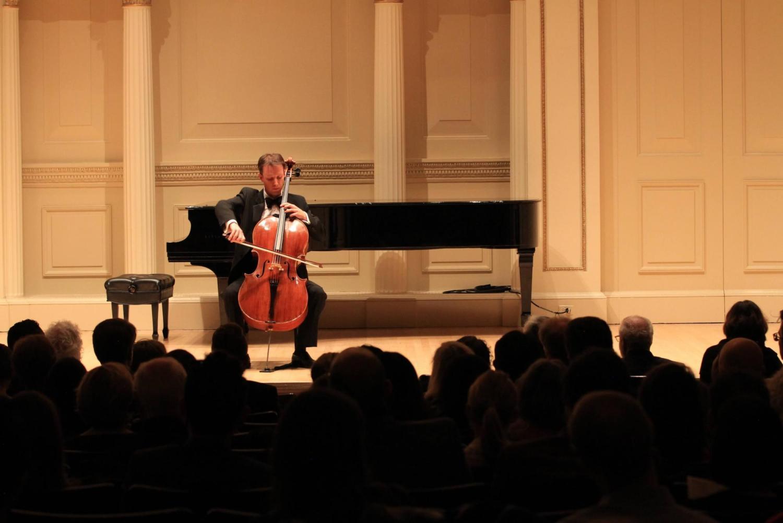 Andrew Brown at Carnegie