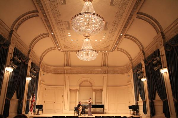 performers at Carnegie Hall
