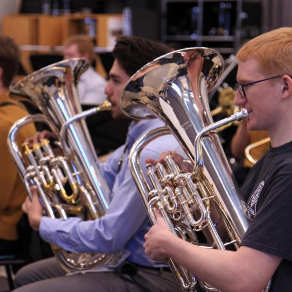 brass percussion news