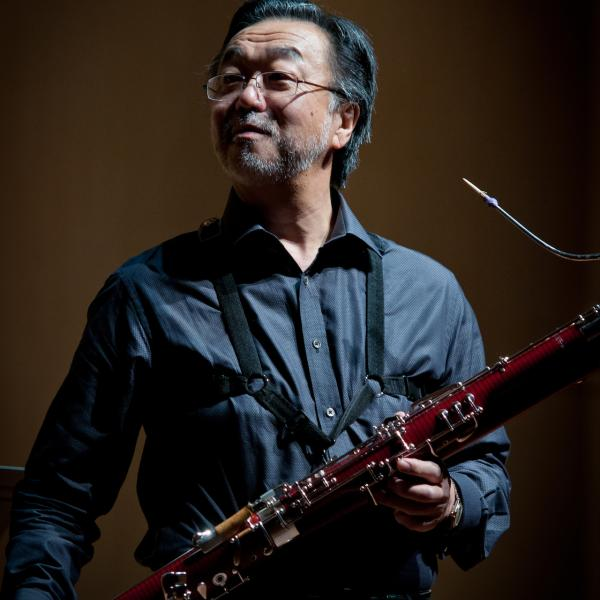 yoshi ishikawa with bassoon
