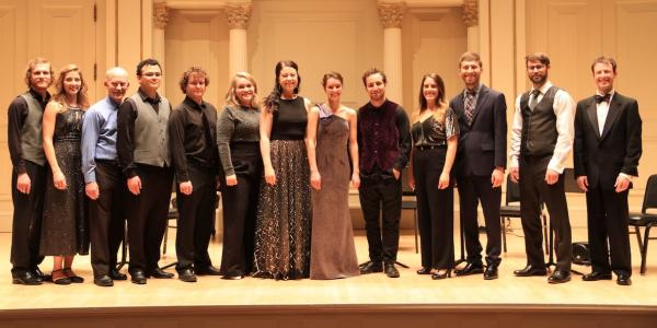 Group at Carnegie Hall