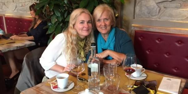Katherine Shimmel and Judith Glyde