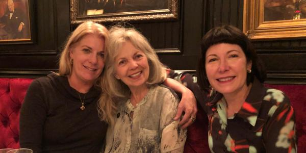 Becky Roser, Mikhy Ritter and Nancy Pierce