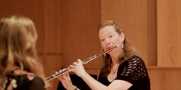 Christina Jennings master class at Panoramic Flutist Seminar