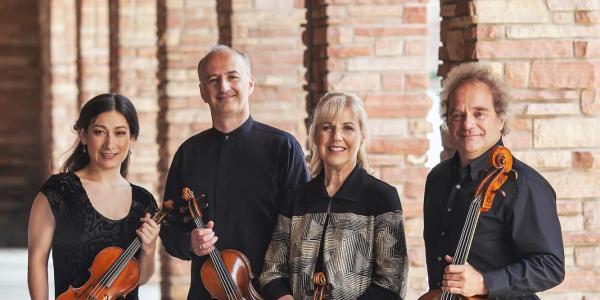 Takacs Quartet posing