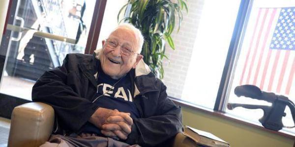 Bill Weber smiling