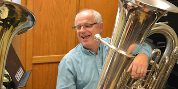 Associate Professor of Brass and Percussion Michael Dunn