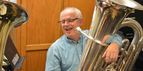 Associate Professor of Brass and Percussion Michael Dunn
