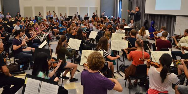conducting students