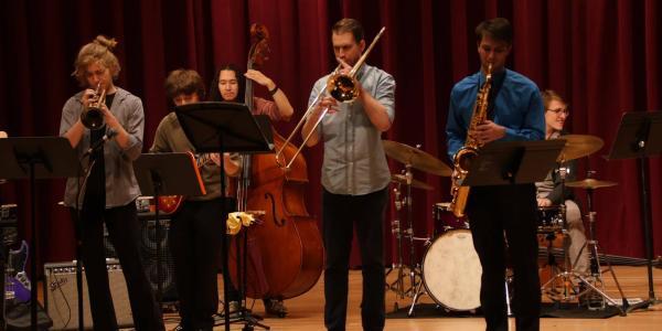 student ensemble event performance