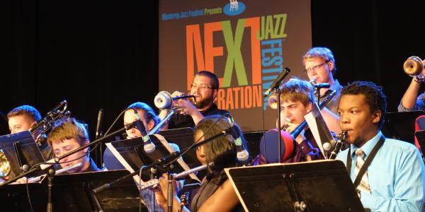 jazz students performing