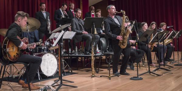 Jazz Ensembles playing