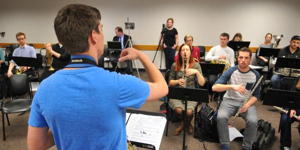 music education student