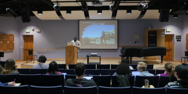 Musicology Class with Austin Okigbo