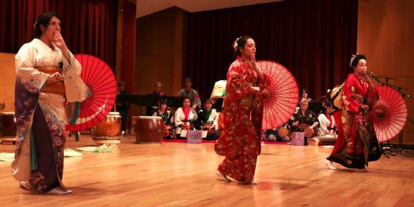 World Music {Japanese Ensemble} Performance