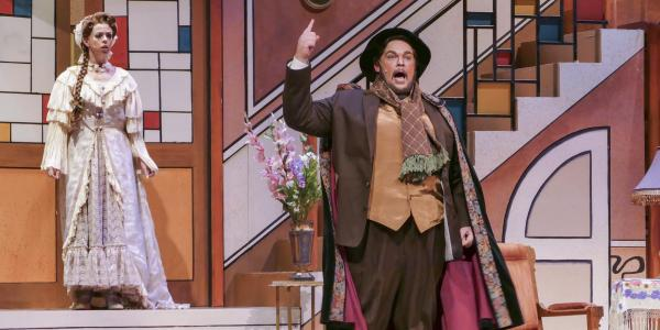 opera student on stage