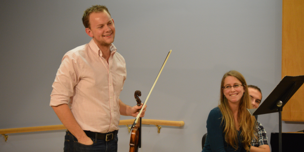 violin studio class