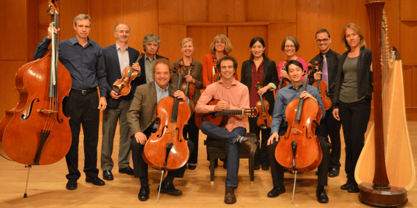string faculty on stage