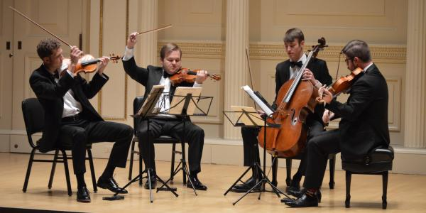 Grad Quartet Performance