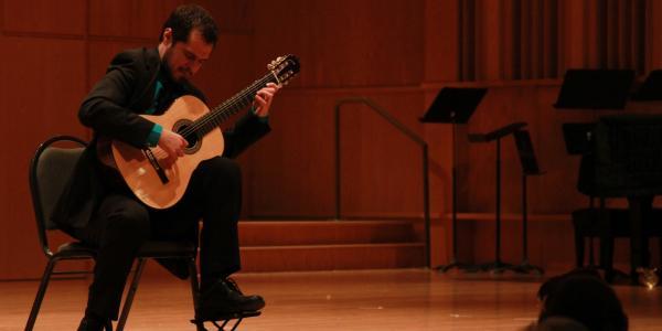 String Guitar Studio Performance