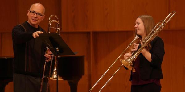 Trombone master class