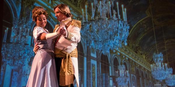 "Eklund Opera's ""La Cenerentola"" actors"