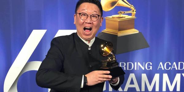 Wei Wu at Grammys
