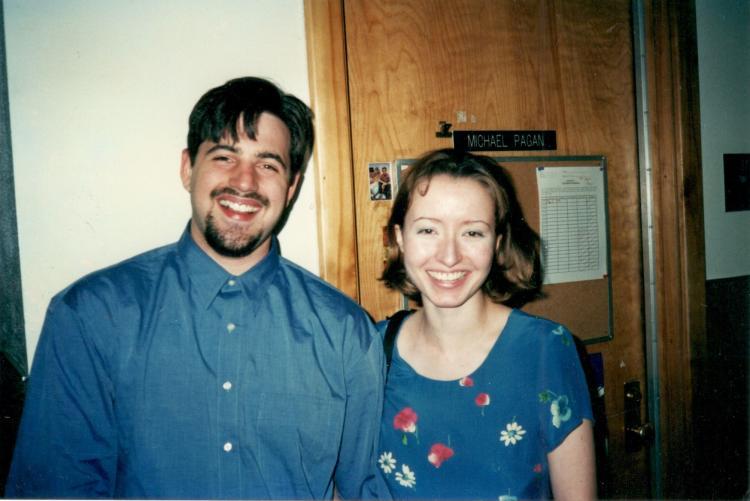 adam and sasha as undergrads at the college of music